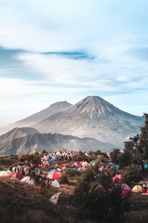 Jalur Pendakian Gunung Sindoro via Kledung